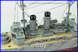 Japanese Battleship Mikasa Handmade Wooden Ship Model 40