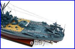 Japanese Navy Ship Yamato Yamato-class Handmade Wooden Battleship Model 48