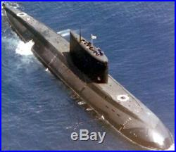 Kilo Class 877 Paltus Russian Submarine Desktop Wood Model Big New