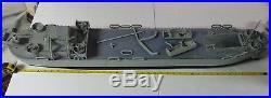 LST Landing Ship Tank WW2 Wooden Model 40 Long 2 Davit Version