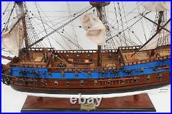 Large 36 Painted Goto Predestination SHIP MODEL Wood Replica Nautical Decor New