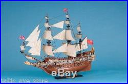 Large HMS SOVREIGN of the SEA Royal Navy Model Ship Nautical Decor Office Gifts