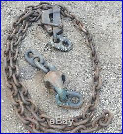 Large Pelican Hook for anchor chain USS Yorktown aircraft carrier