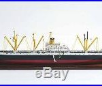 Liberty Dry Cargo Ship EC2-S-C1 33 Handcrafted Boat Waterline Wooden Model New