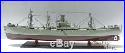 Liberty Jeremiah O' Brien WW II Naval Cargo Ship Ready Display Model 35