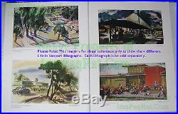 Life In Vanport PGE Lithograph WWII Shipbuilding City Black Americana Voorhies