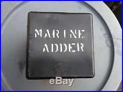 Lifeboat Compass USNS Marine Adder 1950s Troop Ship