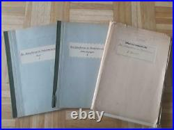 Lot 3 Voll Marine Ships Studie Study Full Fotos And Plan 3 Voll Very Rare