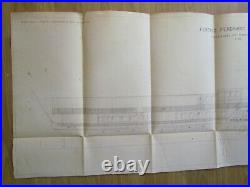 MAHART HUNGARY Österreich AUSTRIA GERMANY FRANZ FERDINAND SHIP PLAN 1914
