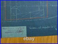 MAHART HUNGARY Österreich AUSTRIA GERMANY REGENSBURG MARINE SHIP PLAN 1907