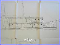 MAHART HUNGARY Österreich AUSTRIA GERMANY REGENSBURG MARINE SHIP PLAN 1920