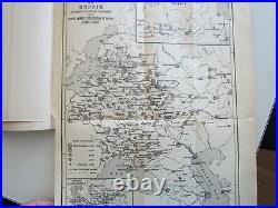 Marine Ship Very Rare Antique Book 75 Photos + 13 Map & Plan 1909