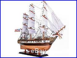 Medium USS Constellation Frigate Wooden Tall Ship Model 29 Sloop Of War Warship