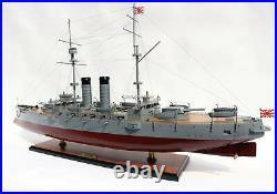 Mikasa Japanese Battleship Handmade Wooden Ship Model 40