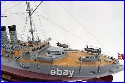 Mikasa Japanese Navy Battleship Handcrafted Wooden Model 40