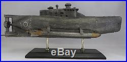Model Midget submarine German U-boat seehunt WWII Type XXVIIB 131/2 long
