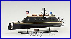Model Ship CSS Virginia Confederate Battleship Fully Assembled