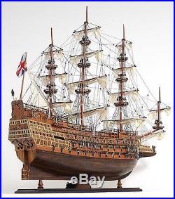Model Ship Sovereign Of The Seas Boats Sailing Wooden Metal 50% Linen 10%