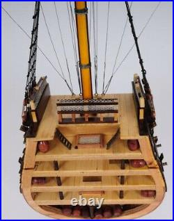 Model Ship Traditional Antique Hms Victory Boats Sailing Cross Section Wood