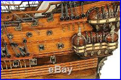Model Ship Traditional Antique Wasa New Hand-built Plank-on-frame Constru