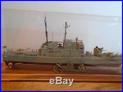 Museum Quality Handbuilt Built Model of the USS Tacoma