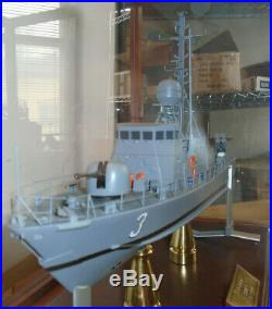 Museum Quality Model of the USS Taurus, PHM 3 Hydrofoil