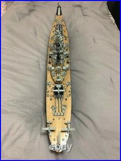 NEW 1/250 42 USS Missouri BB-63 Battleship Assembled Model Boat with Wood Metal