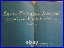 NR 2 MAHART HUNGARY Österreich AUSTRIA GERMANY FRANZ FERDINAND SHIP PLAN 1914