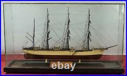 Naval Model. Herzogin Cecilie. Wood. Glass Urn. First Prize 1966