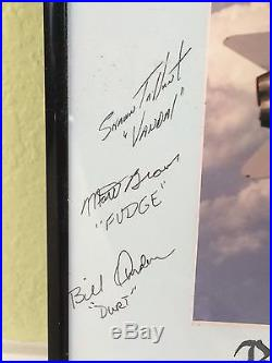 Navy STRKFITRON-132 PRIVATEERS SIGNED PRESENTATION PLAQUE HOOTERS