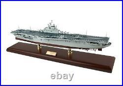 Navy USS Intrepid CV-11 Desk Display WW2 Aircraft Carrier Ship 1/350 ES Model