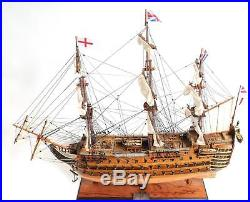 New Model Ship Copper Bottom Hms Victory Om-253