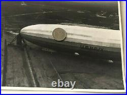 ORIGINAL USS Akron (ZRS-4) US Navy Zeppelin PHOTOGRAPH 10 by 8