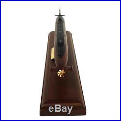 Ohio Class Submarine Mahogany Model