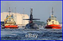 Ohio-class ballistic-missile submarine USS Rhode Island Submarine Base Kings Bay