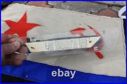 Old SOVIET CCCP NAVY SUBMARINE Metal DESKTOP Old Russian NAVAL Model