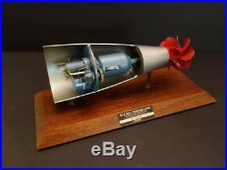 Original Quarter Scale Model MK46 Torpedo Propulsion System GOULD Inc 1960's