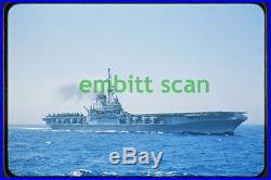 Original Slide, Navy Aircraft Carrier USS Midway (CVA-41), in 1954