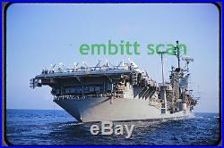 Original Slide, Navy Aircraft Carrier USS Ticonderoga (CVA-14), 1960s