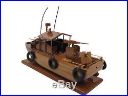 PBR MkII Patrol Boat River Vietnam Brown Water Navy Seal Wood Wooden Model New