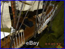 Preussen (Germany) 80 cm 30 Wood Tall Ship Model. Sail, Boat, Nautical Pirate