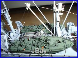 Professionally Built Model of Modern Military Cargo Ship, LOOK