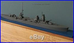 RAIMONDO MONTECUCCOLI Italian cruiser recognition ID model 1500 like Framburg