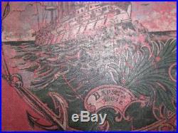 RARE Russian Imperial Nikolay II Fleet book album Battleship Cruiser 1904