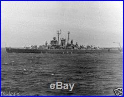 RECOGNITION SHIP USS Fargo (CL-106) Framburg Model Complete