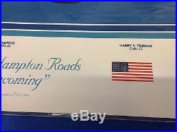 RICK ROMANO HAMPTON ROADS HOMECOMING Signed Limited Edition 2002