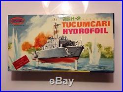 Rare 1969 Aurora PGH-2 Tucumcari Hydrofoil model kit #727- 250 1/84 scale