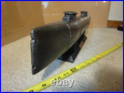 Rare! HL Hunley 1864 Civil War, shelf, display resin model iron ship submarine