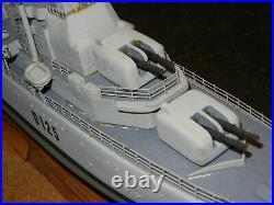 Rare High Quality Ship Model H. M. S. Diana Daring Class Destroyer