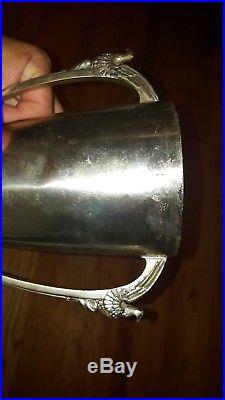 Rare Ww2 Uss Gladwyne Pa Originally Uss Worcester Launch Dedication Trophy 1944
